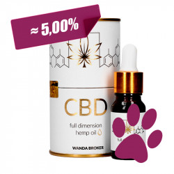 Hemp Oil CBD 5% (500mg) +...
