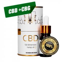 Hemp Oil CBD 10% (1000mg) +...